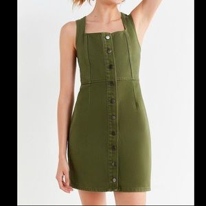 Urban Outfitters Mini Denim Dress Size 0